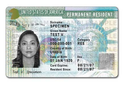 Uscis To Issue Redesigned Us Green Cards Capitol Immigration Law
